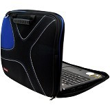 ULTIMATE Tas Laptop Double X 14 Inch - Blue - Notebook Carrying Case