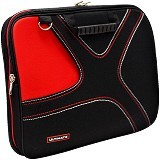 ULTIMATE Tas Laptop Double X 14 Inch - Red - Notebook Carrying Case