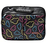 ULTIMATE Tas Laptop Double Pucca 14 Inch - Black - Notebook Carrying Case