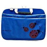 ULTIMATE Tas Laptop Double Lady Bug 12 Inch - Blue - Notebook Carrying Case