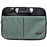 ULTIMATE Tas Laptop Double Line 14 inch - Green - Notebook Shoulder / Sling Bag