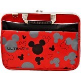ULTIMATE Tas Laptop Double Mickey Head 12 Inch - Red - Notebook Carrying Case