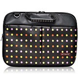 ULTIMATE Tas Laptop Double Pro Dot 12 Inch - Black - Notebook Carrying Case