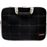 ULTIMATE Tas Laptop Double SL 12 inch - Black - Notebook Shoulder / Sling Bag
