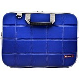ULTIMATE Tas Laptop Double SL 12 inch - Blue - Notebook Shoulder / Sling Bag