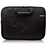 ULTIMATE Tas Laptop Double Slim Cute 12 Inch - Black - Notebook Carrying Case