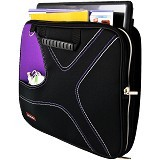 ULTIMATE Tas Laptop Double X 12 Inch - Purple - Notebook Carrying Case