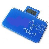 ULTIMATE Timbangan Badan Digital Mini - Blue