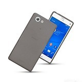ULTRATHIN TPU Softcase Sony Xperia Z3 Compact - Grey (Merchant) - Casing Handphone / Case