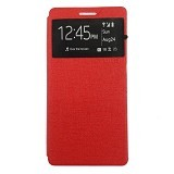 UME Enigma Case for Oppo Neo 5 Flip Cover [Ume0120] - Red - Casing Handphone / Case