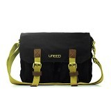 UNEED Hello Messenger Bag [UB209] - Black (Merchant) - Travel Shoulder Bag