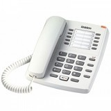 UNIDEN Corded Phone [AS7301] - White - Corded Phone