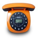 UNIDEN Corded Phone [AT8601] - Orange - Corded Phone
