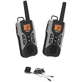 UNIDEN GMRS/FRS Two-Way Radio with Charger [GMR3050-2C] - Grey - Handy Talky / Ht