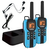 UNIDEN Two Way Radio with Charger and Headsets [GMR4055-2CKHS] - Blue - Handy Talky / Ht