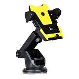 UNIQUE Car Holder Hoco Premium [HOLD-CAR-HP-CA2-YL] - Yellow (Merchant) - Gadget Mounting / Bracket