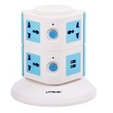 UNIQUE Charger Multi Function Power Juice [CH-U-PJ-W-BL] - White Blue - Stop Kontak Out Bow