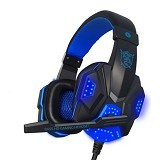 UNIQUE Headphone Plextone Gaming with LED [PC780] - Blue (Merchant) - Gaming Headset