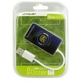 UNIQUE USB Hub 4Port Unique Soccer Inter Milan [HUB-U-SM-IM] - Cable / Connector Usb