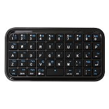 UNIQUE Keyboard Mini Bluetooth [KB-M-BT-B] - Black