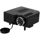 UNIQUE Mini Proyektor Entertainment AZ-308 [MP-E-AZ308-LED-B]  - Black - Proyektor Mini / Pico