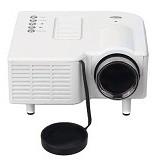 UNIQUE Mini Proyektor Entertainment AZ-308 [MP-E-AZ308-LED-W] - White - Proyektor Mini / Pico