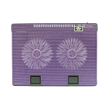 UNIQUE Notebook Cooler 668 [NC-U-668-PR] - Purple - Notebook Cooler
