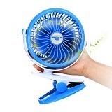 UNIQUE USB Fan [USB-FAN-XS-F805-BL] - Blue (Merchant) - Kipas Angin Meja