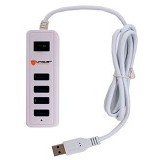 UNIQUE USB Hub 3.0 4-port Eco Block [HUB-U-EB-W] - White - Cable / Connector Usb