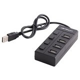 UNIQUE USB Hub 4-Port Unique Eco Box [HUB-4-U-EB] - Cable / Connector Usb