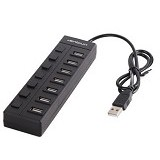 UNIQUE USB Hub 7-Port Unique Eco Box [HUB-7-U-EB] - Cable / Connector Usb