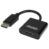 UNITEK DisplayPort to HDMI Female Converter [Y-5118DA] - Cable / Connector Display Port