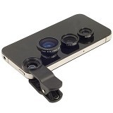 UNIVERSAL Clip Lens 3 in 1 - Black - Gadget Activity Device