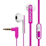 URBANISTA Earphone With Microphone San Fransisco - Pink (Merchant) - Earphone Ear Monitor / Iem
