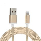 USAMS USB Cable Quick Charge 1M - Gold (Merchant) - Cable / Connector Usb