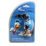 USBCOM Disney Mini Optical Mouse  Donald Super [DS-MM-DDS] - Mouse Mobile