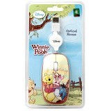 USBCOM Disney Optical Mouse Pooh Friendship [DS-OM-PFR] - Mouse Mobile