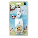 USBCOM Disney Optical Mouse Pooh Rainbow [DS-OM-PRW] - Mouse Mobile