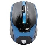 UNIQUE Wireless Mouse Unique Pluto [WM-U-P-BL] - Blue - Mouse Basic