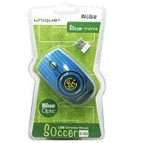 UNIQUE Wireless Mouse Unique Soccer Mania Inter [WM-U-SM-IM] - Mouse Basic