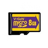 V-GEN Micro SD 8 GB [ME000V8] - Class 6 - Micro Secure Digital / Micro Sd Card