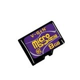 V-GEN Micro SD 8GB Class 10  (Merchant) - Micro Secure Digital / Micro Sd Card