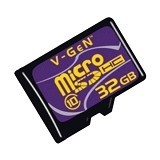 V-GEN Micro SDHC 32GB - Class 10 - Micro Secure Digital / Micro Sd Card