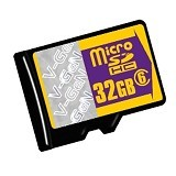 V-GEN Micro SDHC 32GB Class 6 with CPRM License - Micro Secure Digital / Micro SD Card