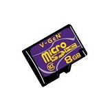 V-GEN Micro SDHC 8GB - Class 10 - Micro Secure Digital / Micro SD Card