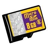 V-GEN Micro SDHC 8GB Class 6 with CPRM License - Micro Secure Digital / Micro Sd Card