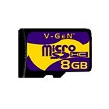 V-GEN Micro SDHC 8GB (Merchant) - Micro Secure Digital / Micro Sd Card