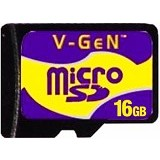 V-GEN MicroSD 16GB (Merchant) - Micro Secure Digital / Micro Sd Card