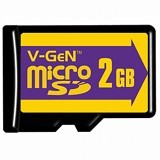 V-GEN MicroSD 2GB Class 6 - Micro Secure Digital / Micro SD Card