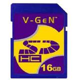 V-GEN SDHC 16GB - Class 10 - Secure Digital / Sd Card